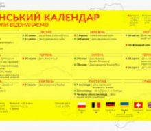 В Україні хочуть впорядкувати календар державних свят
