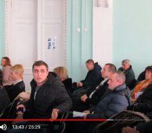 Про порушення депутатської етики Олещенком, та шкільний автобус за 30%